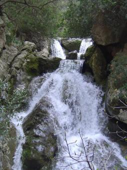 Waterfall Biniaraix ravine
