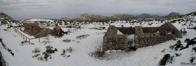 Casas de Nieve. Complejo de la casa de neu des Galileu.