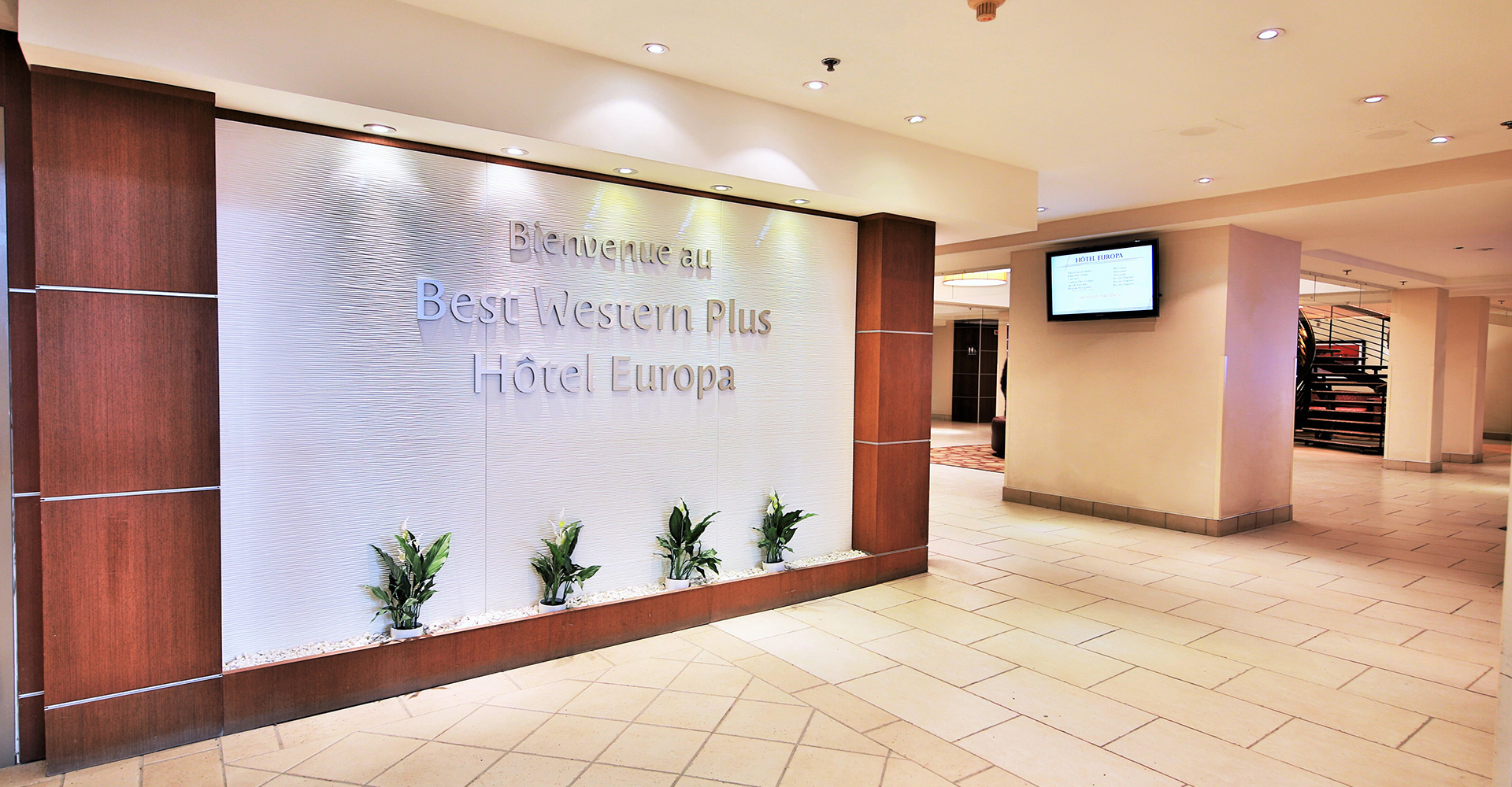 Best Western Plus Hotel Europa Entrance