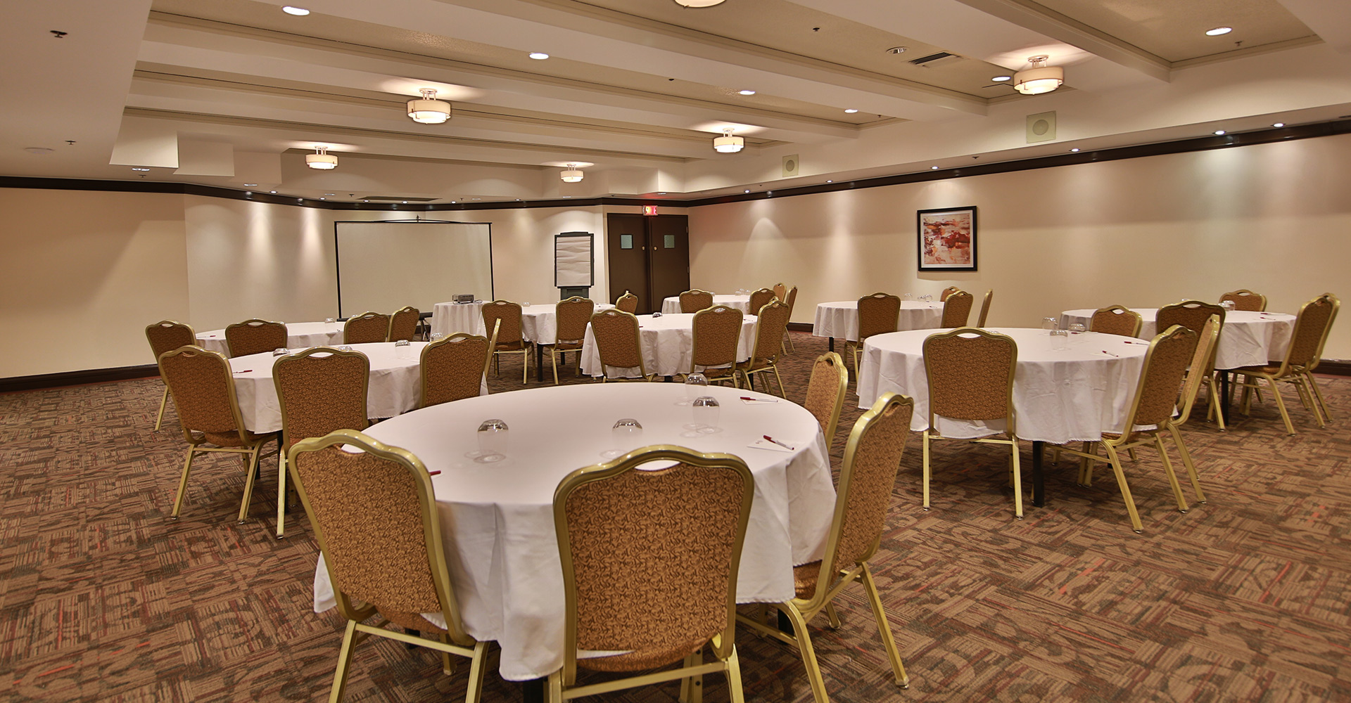 Meeting room at the Best Western Plus Montreal Downtown Hotel Europa