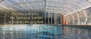 Piscina y sauna