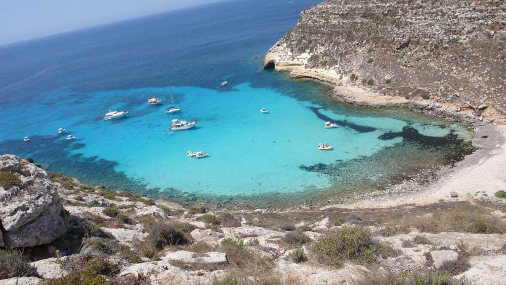 Spiagge di Lampedusa 10 foto incredibili  Hotelfreeit