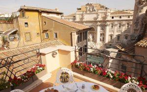 Harrys Bar hotel a Fontana di Trevi Roma centro storico