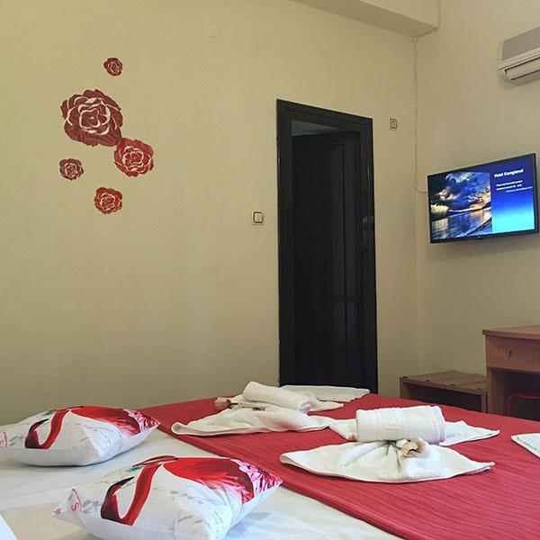 single, room, hotel, Volos, double, suite