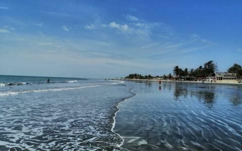 Gambias Atlantik Küste