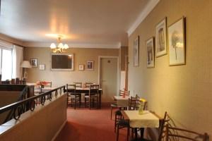 ,Hôtel Le Valier, St Girons, Ariège_Vue intérieure hôtel- Salle à manger