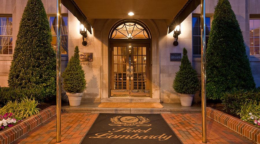 Downtown Washington DC Hotel Landmark Hotel Lombardy