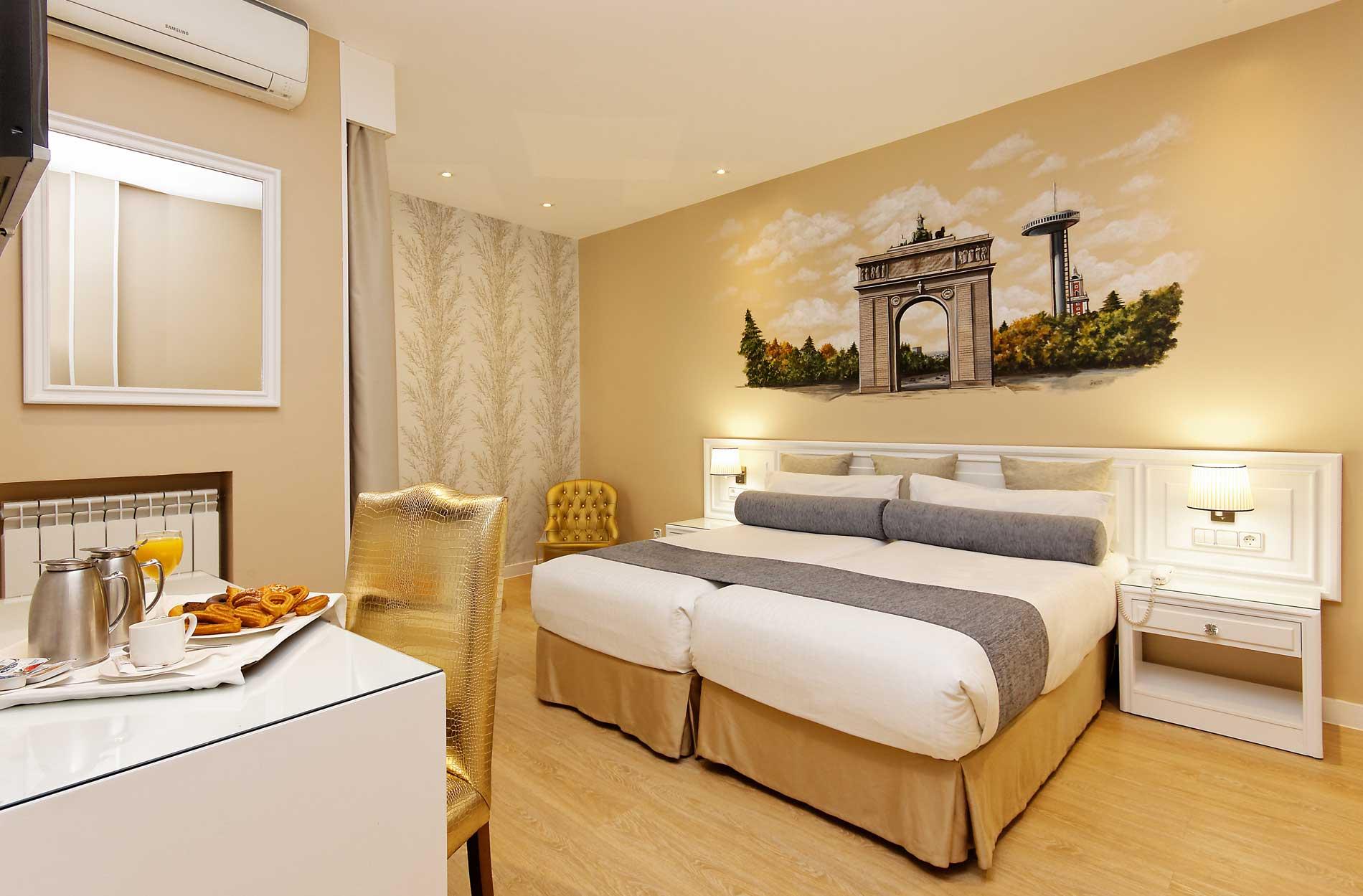 Temtica Madrilea  Hotel Mayorazgo Madrid