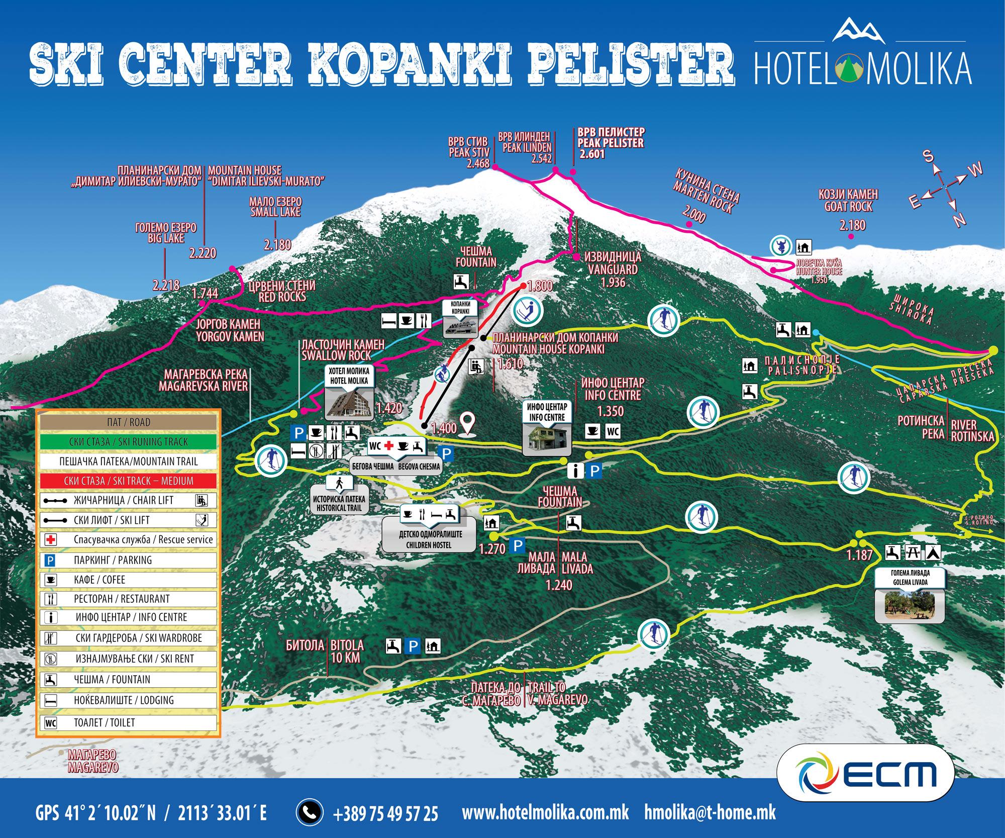 Ски центар ,,Копанки,, – Пелистер