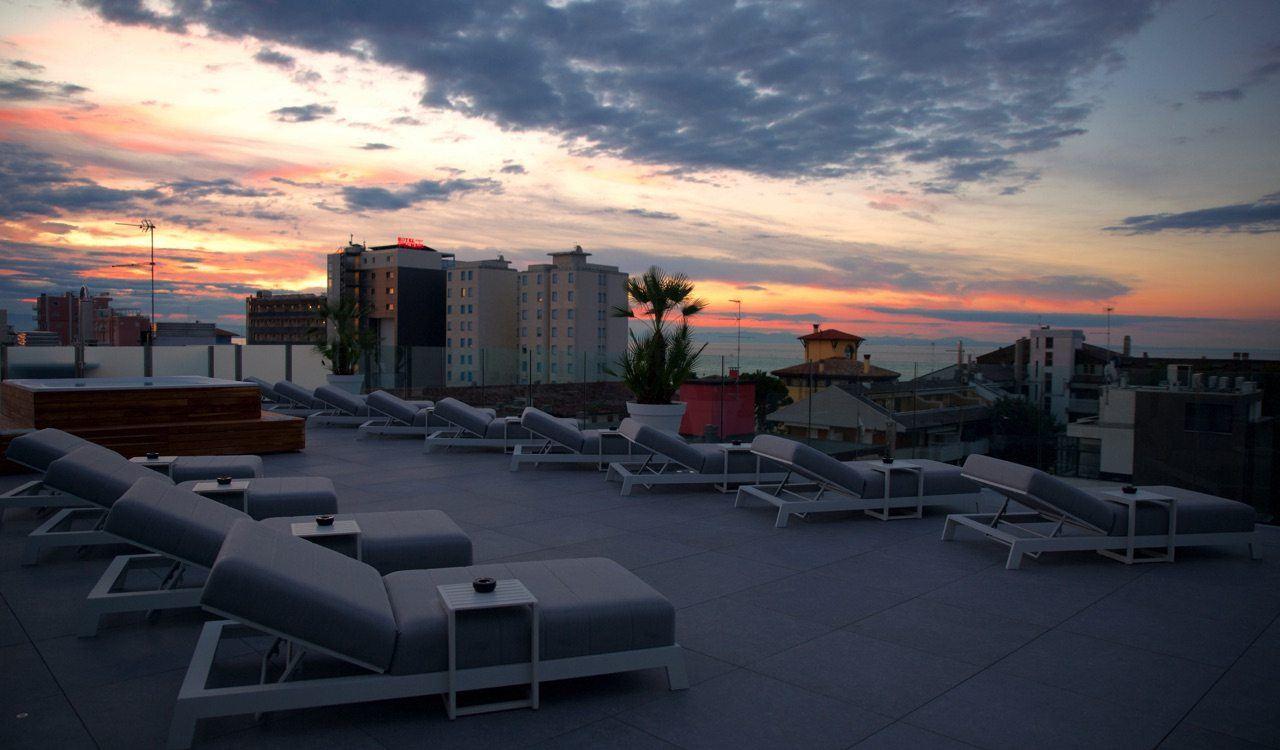 5 Roof Solarium Hotel Monaco Lignano
