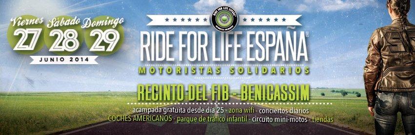 Ride for Life España 2014
