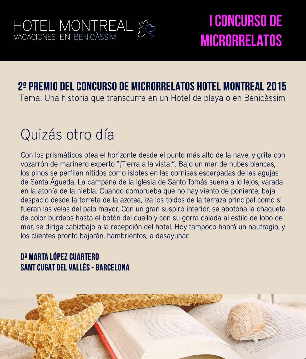2 Premio Concurso microrrelatos