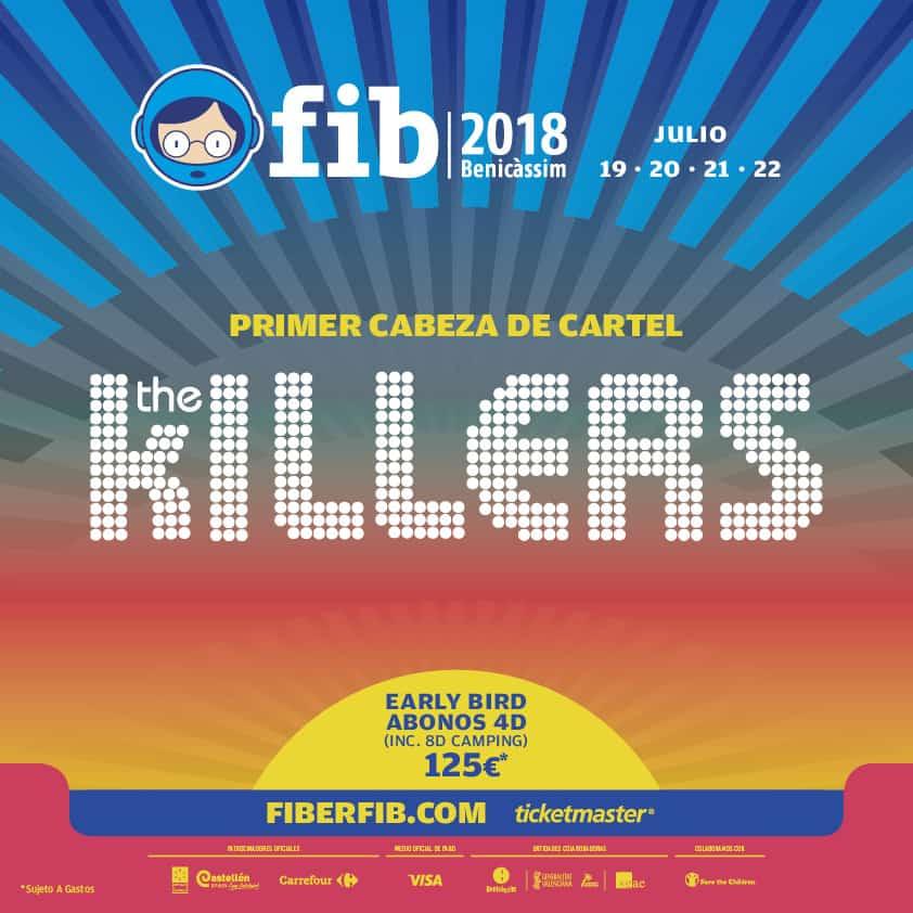 FIB 2018 – Primer cabeza de cartel
