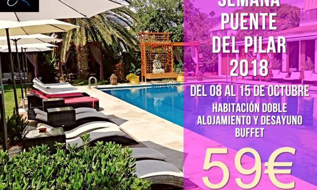 Oferta Semana del Pilar 2018
