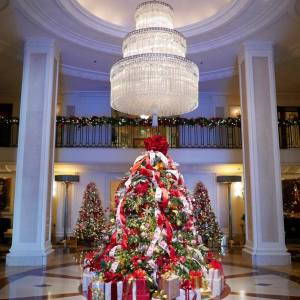 Decoração de Natal do Four Seasons Bervely Wishire