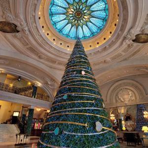 Decoração de Natal do Hotel de Paris