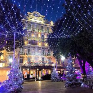 Decoração de Natal do Hotel Hermitage