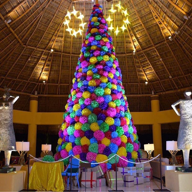 Árvore de Natal do Four Seasons Punta Mita