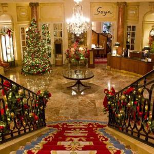 Decoração de Natal do Ritz Madrid