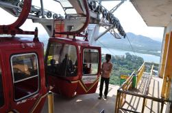 Teleférico em Udaipur