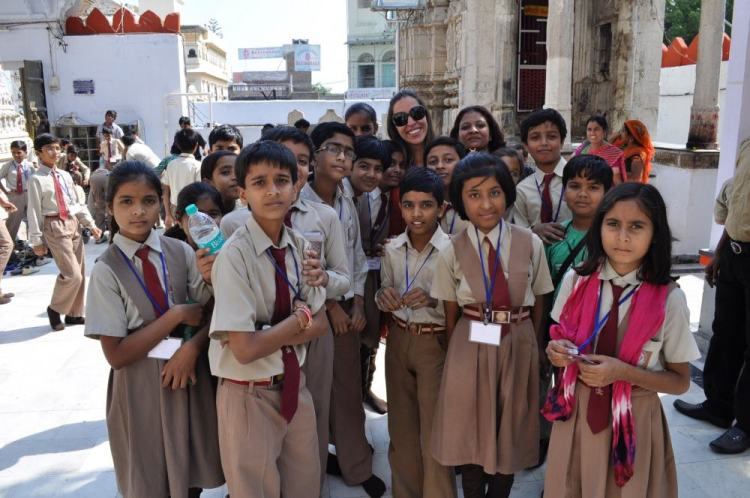 crianças indianas
