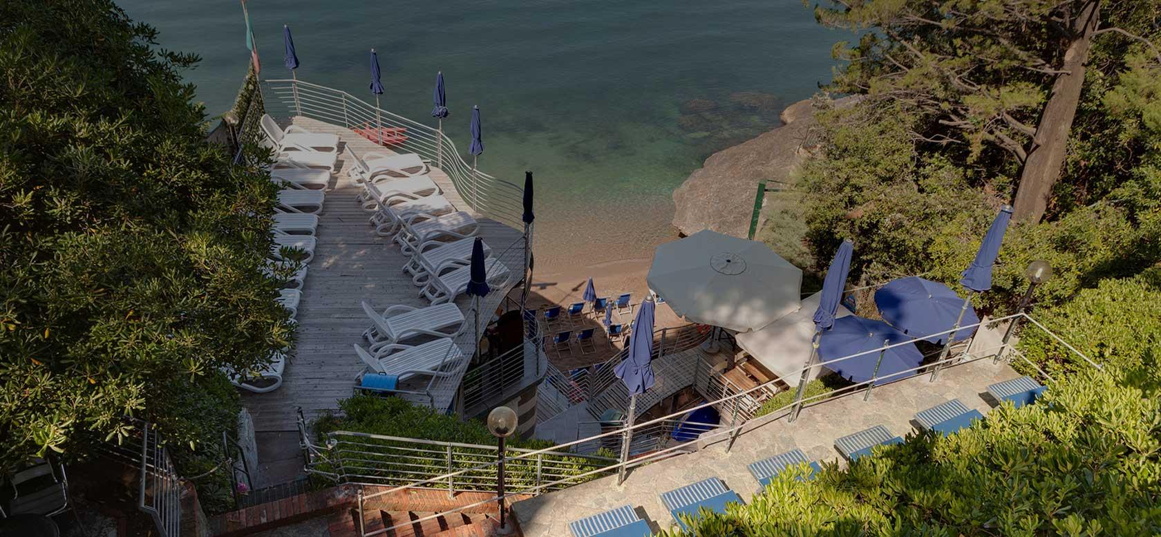 Hotel il Nido raffinato hotel a picco sul mare di Fiascherino