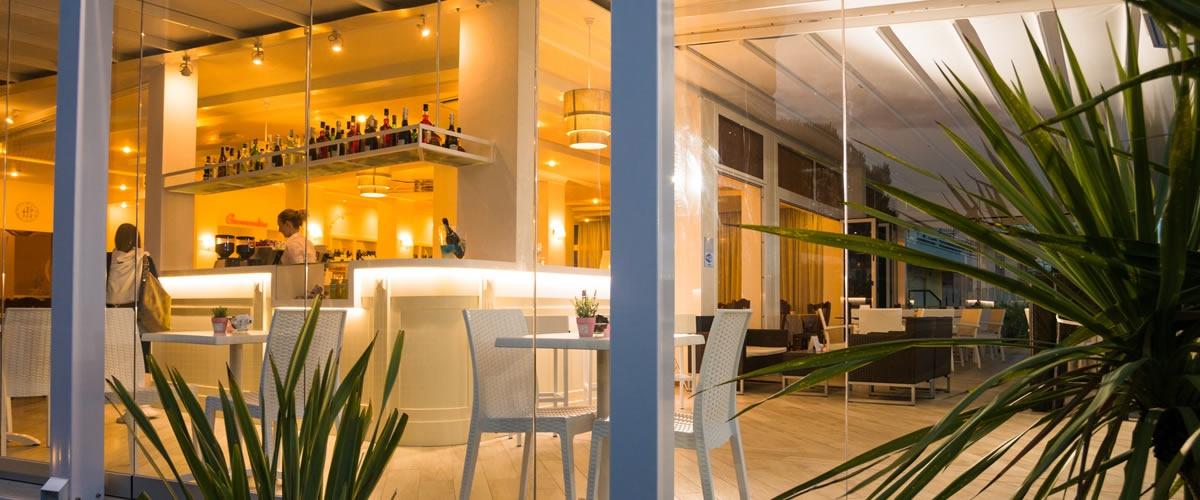 Hotel con Terrazza Bar Jesolo  Hotel Fronte Mare Jesolo