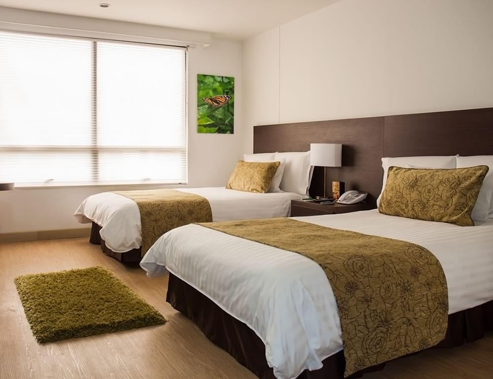 Habitaciones  Hotel Parque 97