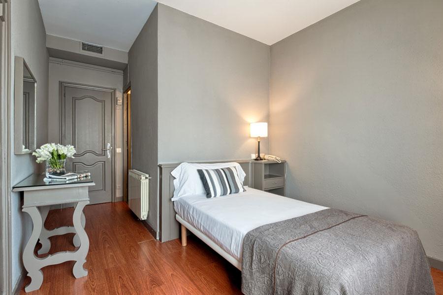 Habitacin Individual  Hotel Paseo de Gracia