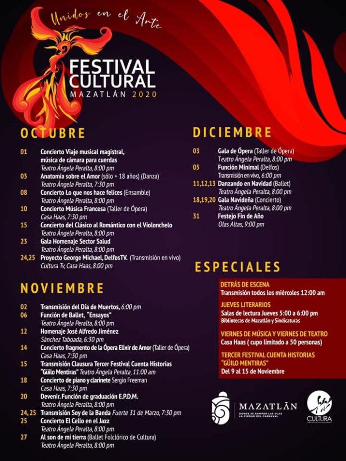 Festival Cultural Mazatlán 2020   Hotel Playa Mazatlan