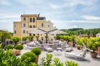 Garden and Roof Terrace   Hotel Ponte Sisto, Roma