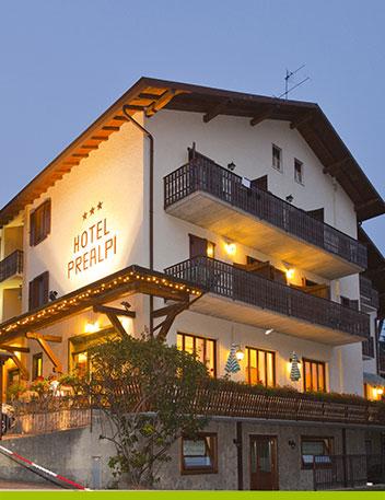 Prealpi  Hotel e ristorante a Castione della Presolana