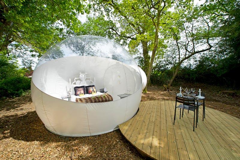 Bulle Royale  Dormir dans une bulle du ct de Nantes
