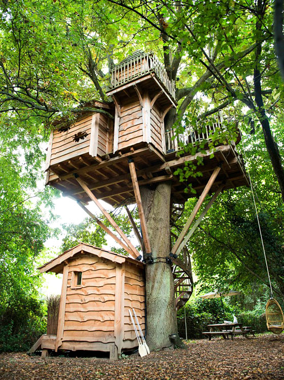 Les Cabanes du Moulin de Busserolles  Dormir dans les arbres en rgion parisienne  Hotels