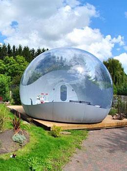 Oxybulle  Dormir dans une bulle insolite en Belgique
