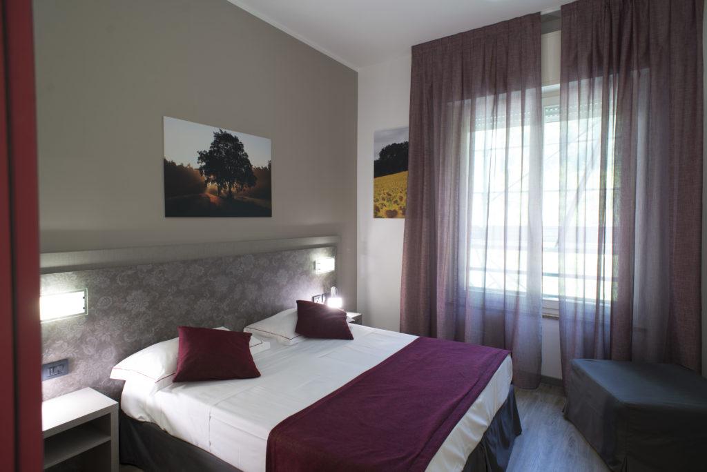 Le Camere dell' Hotel Salus Parma Sant' Andrea a Bagni