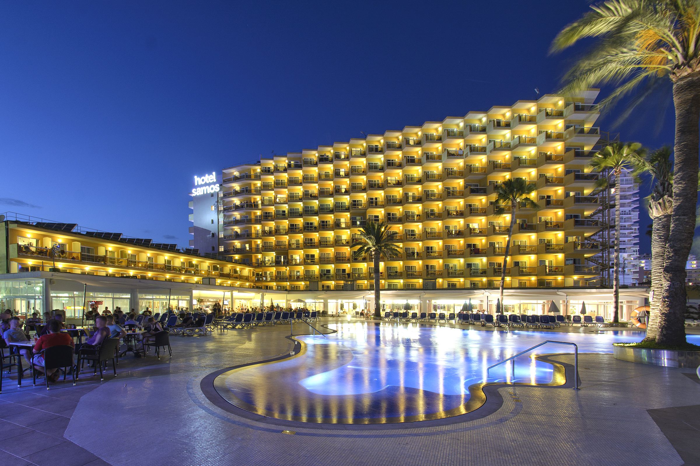 Official Photo Gallery Of Hotel Samos In Magaluf Mallorca