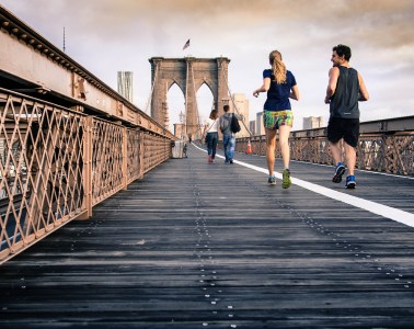 Running the Brooklyn Bridge