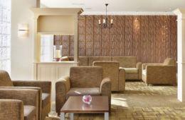 Heathrow Oak and Avocado Lounge