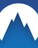 NordVPN virtual private network mobile app logo