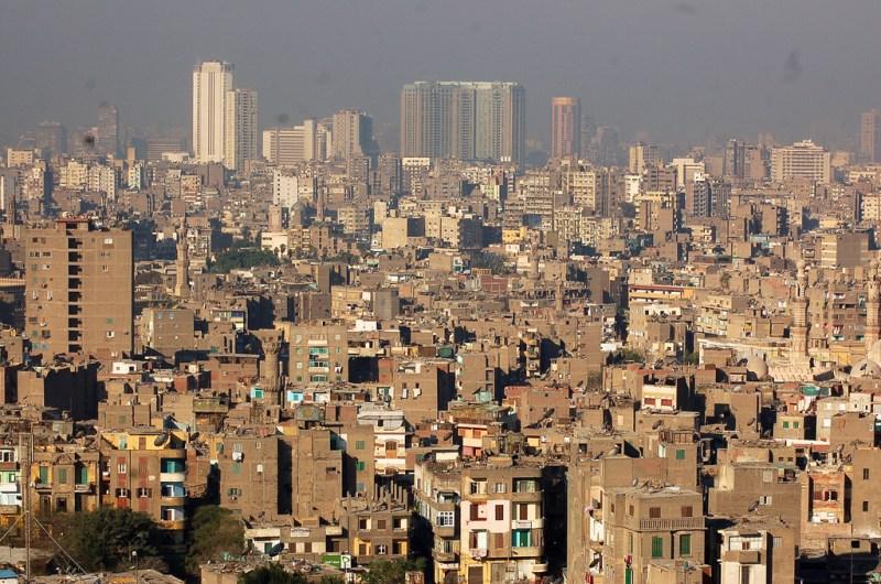 View of Cairo (القاهرة) from the Saladin Citadel (قلعة صلاح الدين)