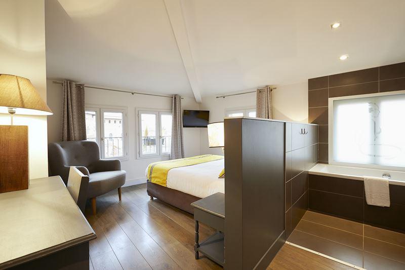 Chambre dhotel de charme centre ville Toulouse  Hotel Saint Sernin