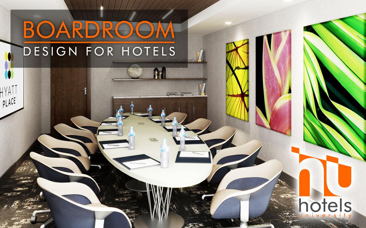 Hotel Boardroom Design Reimagined