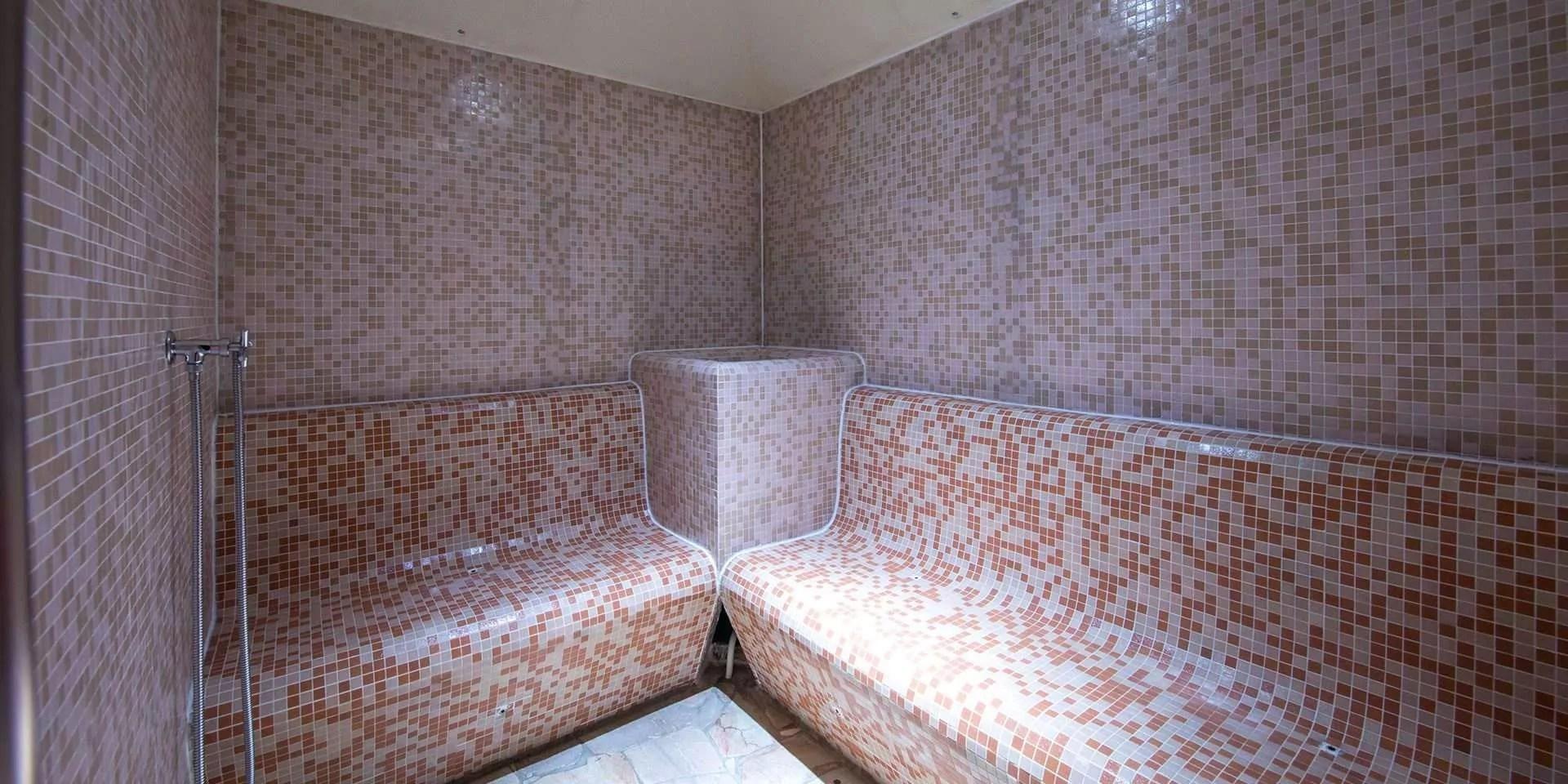 Centro Benessere  Bagno Turco a Canazei  Hotel Villa Rosella
