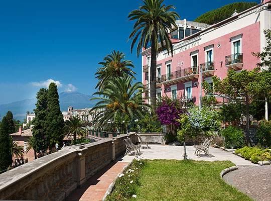 Hotel Villa Schuler Official Site Boutique Hotel In Taormina