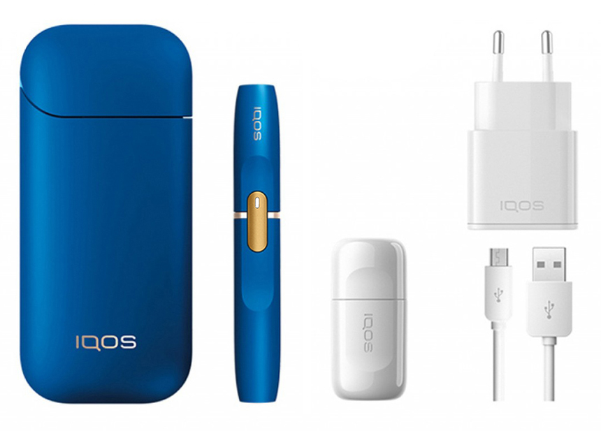 IQOS Device Kit Blue Limited Edition 2.4 Plus (KOREAN VERSION)