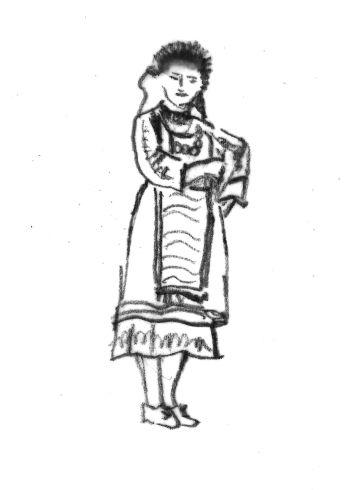 Γυναικεία φορεσιά Μάρηδων