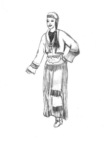 Γυναικεία φορεσιά Νάουσας