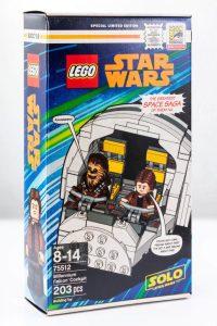 SDCC 2018 : Set exclusif LEGO Star Wars 75512 Millennium ...