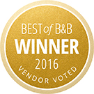 HotHouse Design Studio - Best of B&B Winner 2016